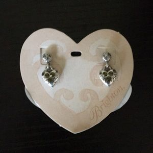 Brighton heart shaped dangling earrings
